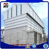 Construction de structure métallique d'atelier de fabrication avec la conformité de la CE