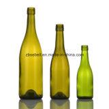 375mlガラスバーガンディ緑の/Flintのワイン・ボトル