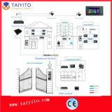 7建物のためのインチのメモリTCP IPの別荘ワイヤーテレビ電話