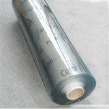 Azzurro trasparente variopinto della pellicola della pellicola trasparente molle del PVC
