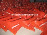 Boom del petrolio arancioni del galleggiante del PVC di colore