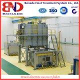 縦の熱処理の炉が付いているアルミ合金の速い癒やす炉