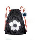 リサイクルされたポリエステル昇進の屋外スポーツのドローストリングのバックパック袋