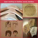 Машина маркировки лазера СО2 высокого качества для древесины, Acrylic, кожаный гравировки