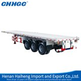 Fabrikant 3/4/5 van China Assen 50/80/100 Ton van Op zwaar werk berekende Flatbed Semi Vrachtwagens en Aanhangwagens voor Verkoop
