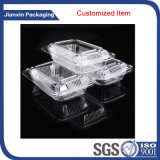 Conditionnement des aliments en plastique de Customieze avec le couvercle