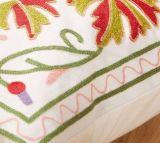 Ricamo Decoration&#160 delle lane della tela di canapa del cotone; Stile del cittadino di disegno del fiore della cassa del cuscino del coperchio dell'ammortizzatore