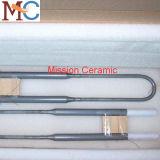 Calentador del horno Mosi2 de la dimensión de una variable de U
