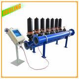 自浄式の水処理の産業自動ろ過システム