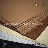 Papel de empaquetado sin recubrimiento del color de la especialidad de la impresión de la pulpa de madera