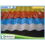 Feuilles ondulées semi-transparentes de toiture de FRP