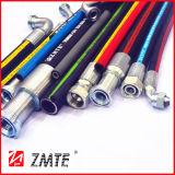 Boyau hydraulique tressé de fil d'acier à haute limite élastique d'En853 1sn