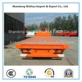 Semi-remorque à 4 essieux Lowbed avec 80t Capacité de charge