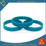 Wristband di gomma del silicone di Debossed di vendita calda di alta qualità 2015 (LN-046)