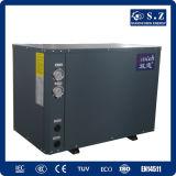 寒い気候-25cの冬の床暖房+ Dhw 10kw/15kw/20kwの塩水の海水ソースマルチ機能ヒートポンプの給湯装置