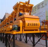 Mezclador concreto eléctrico del eje gemelo mini (Js500)