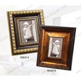 Marco de fotos de plástico para la decoración de la pared