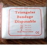 Algodão ou Non Woven Medical Triangular Bandage (SC-TB001)