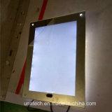 LED 실내 미러 마술 호리호리한 광고 가벼운 상자