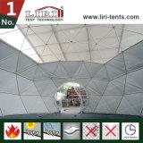 Tenda impermeabile ed ignifuga con CA, tenda della cupola della sfera mezza da vendere