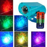 Mini DEL effet de la lumière d'onde d'eau de Lxg133RGB 9W RVB