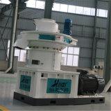 90 kW Potencia del motor Anillo de madera Die fábrica de pellets de combustible biológico