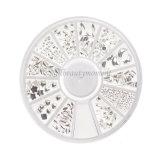 Prodotti della rotella della decorazione di bellezza del metallo di arte del chiodo del manicure (D82)