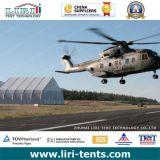 barraca do hangar dos aviões de 15X30m para o hangar e o helicóptero