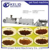Máquina automática Turnkey da extrusora da pelota do alimento de animal de estimação do Ce