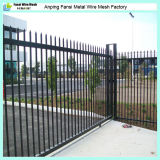 8ft Long Dupont Powder Coated Wrought Iron Fence Panels