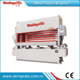 300ton 5 Layers Veneer Hot Press Machine 또는 Woodworking Machinery