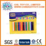 O Ce certificou a argila de modelagem colorida seca do ar ajustada com ferramentas plásticas