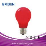 Lâmpada colorida do diodo emissor de luz do diodo emissor de luz A60 6W E27