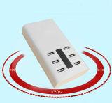 Hersteller USB-Energien-Aufladeeinheit mit LED-Licht