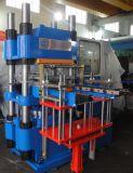 cristal de exposición de goma de la calefacción del silicón 350t que cura la máquina con la bomba de vacío hecha en China