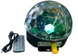 MP3 Play Battery Power를 가진 LED Magic Ball Light