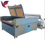 Gravura do laser e máquina de estaca (alimentação automática) em pranchas de madeira acrílicas Jieda de papel