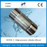 Cilindro de alta pressão das peças Waterjet da bomba de jato da água do cortador