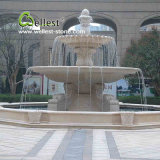 Do mármore de pedra natural do granito de 100% fonte de água ao ar livre cinzelada mão