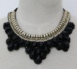 De vrouwen vormen de Juwelen Geparelde Halsband van de Kraag van het Kostuum van het Kristal (JE0154)