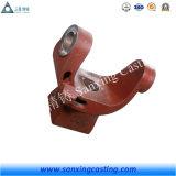 Pieza de acero fundido de la alta inversión del manganeso del OEM usada en maquinaria de construcción