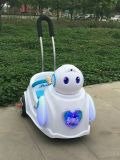 おもちゃ車、押し棒を持つ赤ん坊ElectriccarのBaymaxの乗車