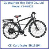 Bicicletas elétricas para a venda com a bateria traseira da cremalheira