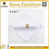 Serviettes de toile bon marché de Tableau de tissu de Tableau de serviettes de mariage d'usine