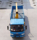 FAW 트럭에 의하여 거치되는 기중기 12 톤