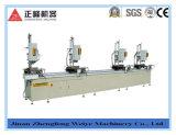 Máquina Drilling da Multi-Cabeça para o perfil de alumínio