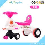 Baby-Roller mit Pushbar/Fahrzeug-Spielwaren-Schwingen-Auto des Fabrik-preiswerten Kindes
