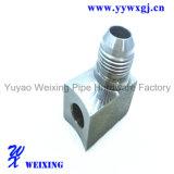 Pièces d'auto convenables hydrauliques de tuyau d'adapteur d'acier inoxydable adaptant l'ajustage de précision de connecteur