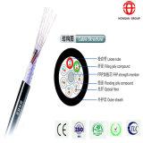 Câble de fibre optique non métallique de 48 faisceaux dans l'excellente performance de Eau-Blocage