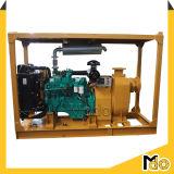 Zentrifugale horizontale Vakuumgrundieren-Abwasser-Pumpe